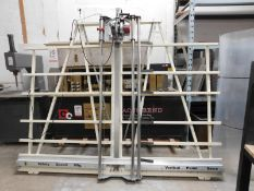 """SAFETY SPEED VERTICAL PANEL SAW, MODEL H6, CUTS UP TO 10' X 6', UP TO 1.75"""" THICK, W/ MILWAUKEE 3-"""