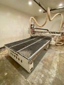 LAGUNA SMART SHOP MT CNC ROUTER, MODEL MCNC-MTSV 510, 5' X 10' VACUUM TABLE, SINGLE SPINDLE, TOOL
