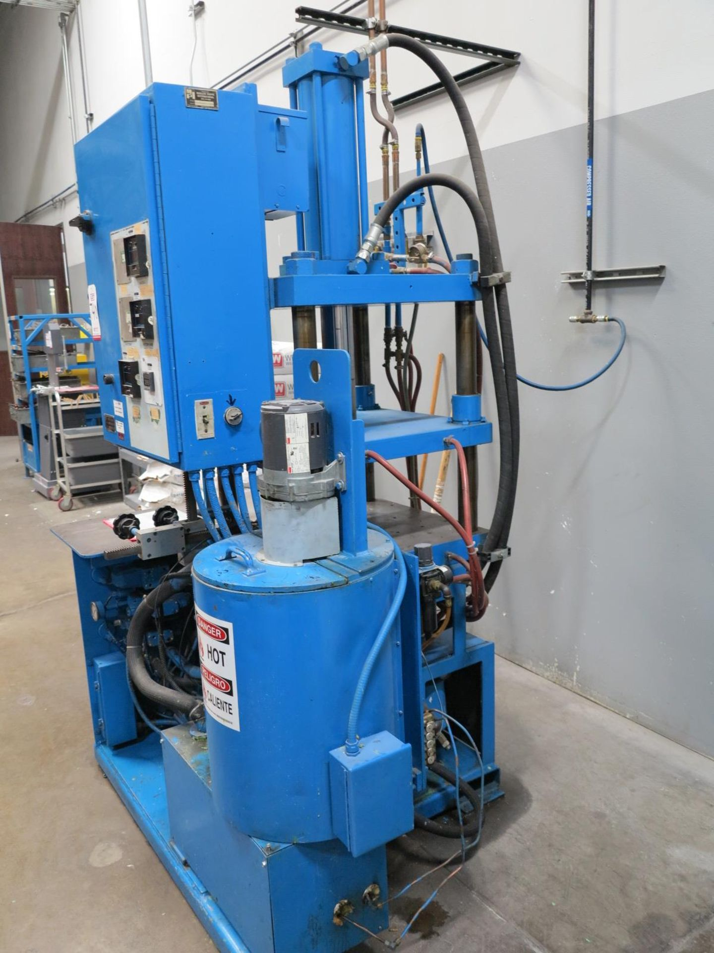 Lot 740 - MPI SYSTEMS WAX INJECTOR, MODEL 34-34-18, S/N 52