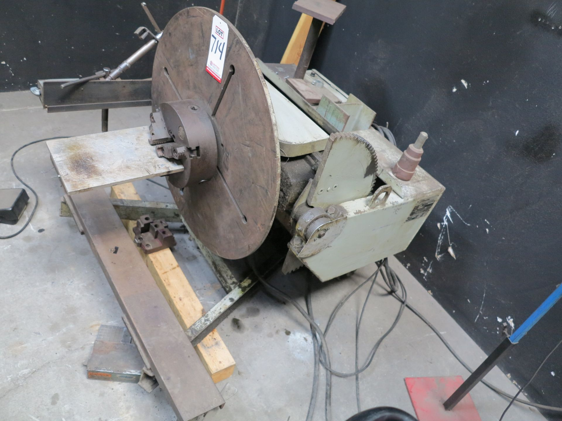 Lot 714 - RANSOME WELDING POSITIONER, MODEL 5-P, S/N 13-2871