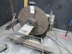 RANSOME WELDING POSITIONER, MODEL 5-P, S/N 13-2871