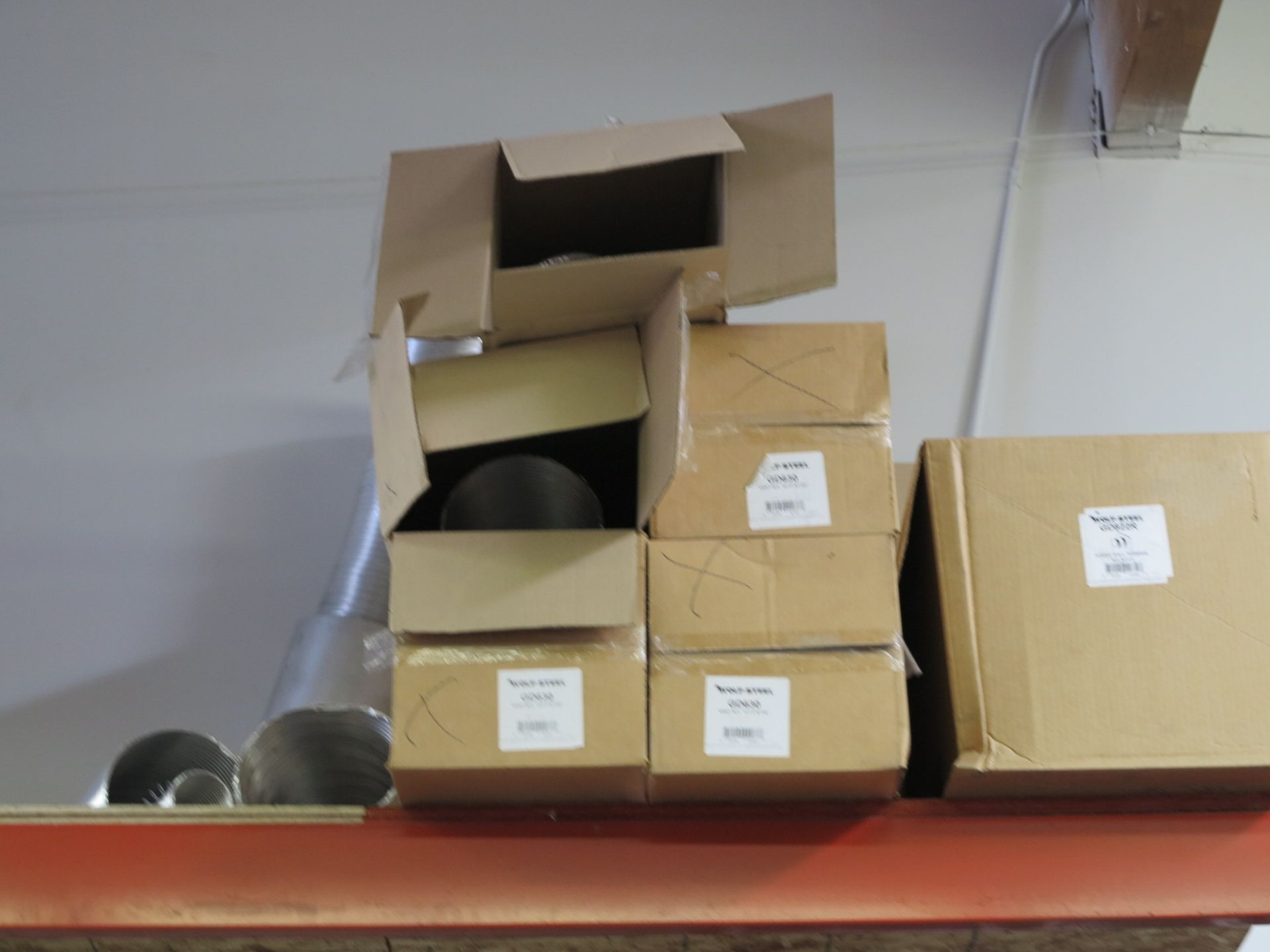 LOT - CONTENTS OF (3) SECTIONS OF PALLET RACKING, NOT INCLUDING TAGGED ITEMS - Image 9 of 9