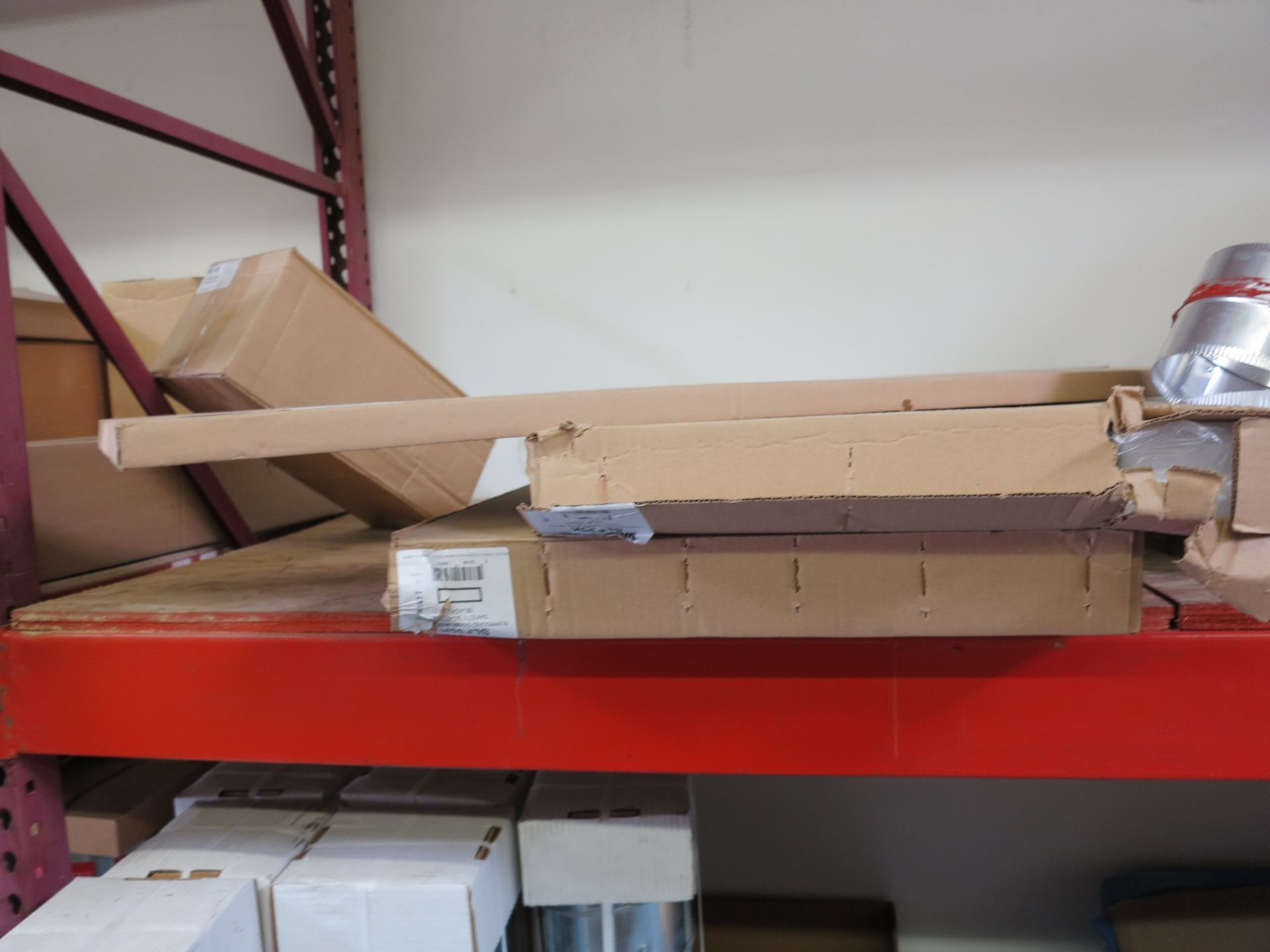 LOT - CONTENTS OF (3) SECTIONS OF PALLET RACKING, NOT INCLUDING TAGGED ITEMS - Image 7 of 9