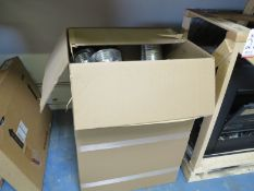 LOT - CONTENTS OF (3) SECTIONS OF PALLET RACKING, NOT INCLUDING TAGGED ITEMS