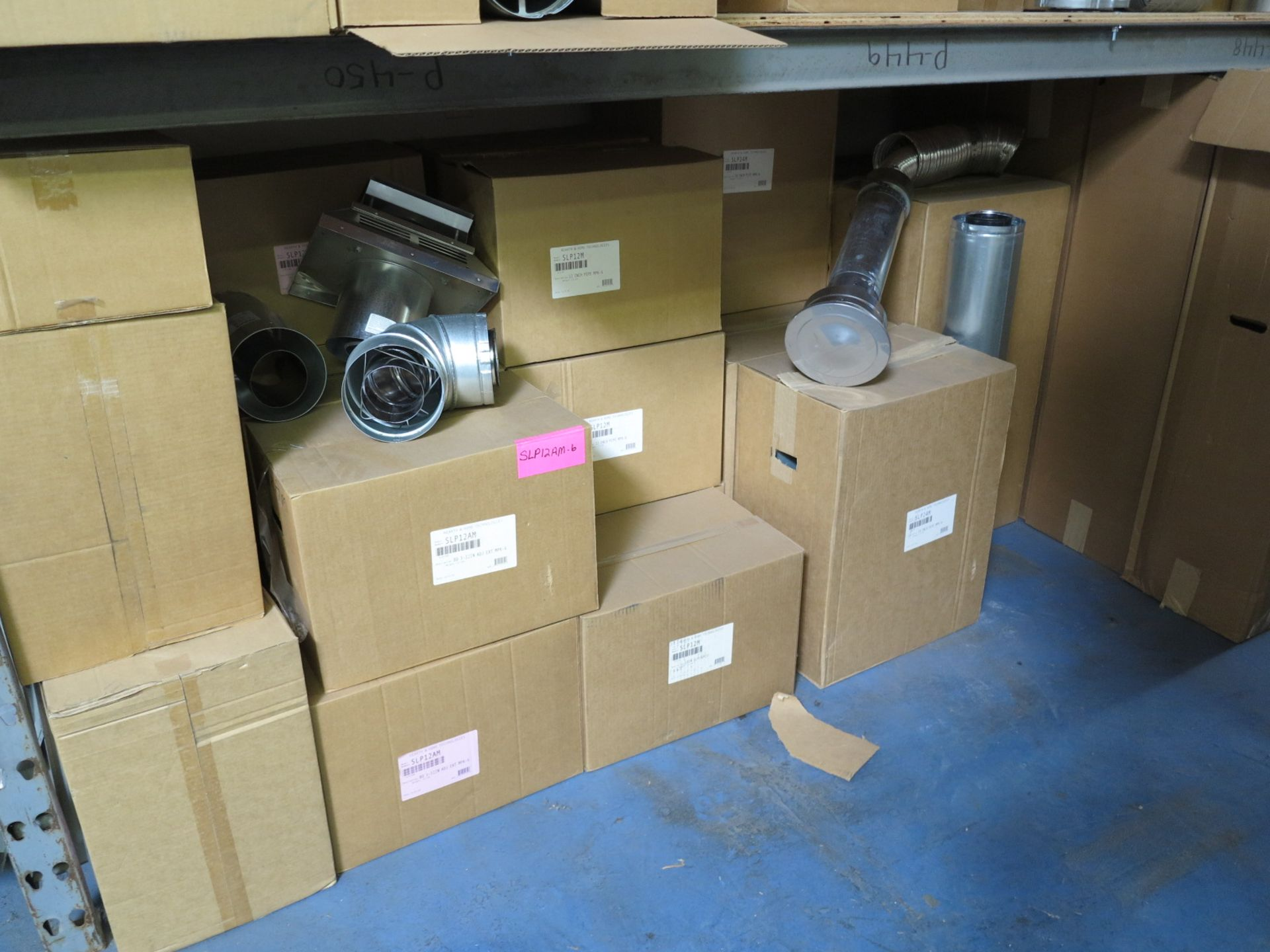 LOT - CONTENTS OF (1) SECTION OF PALLET RACKING, MISC STOVE PARTS - Image 2 of 4