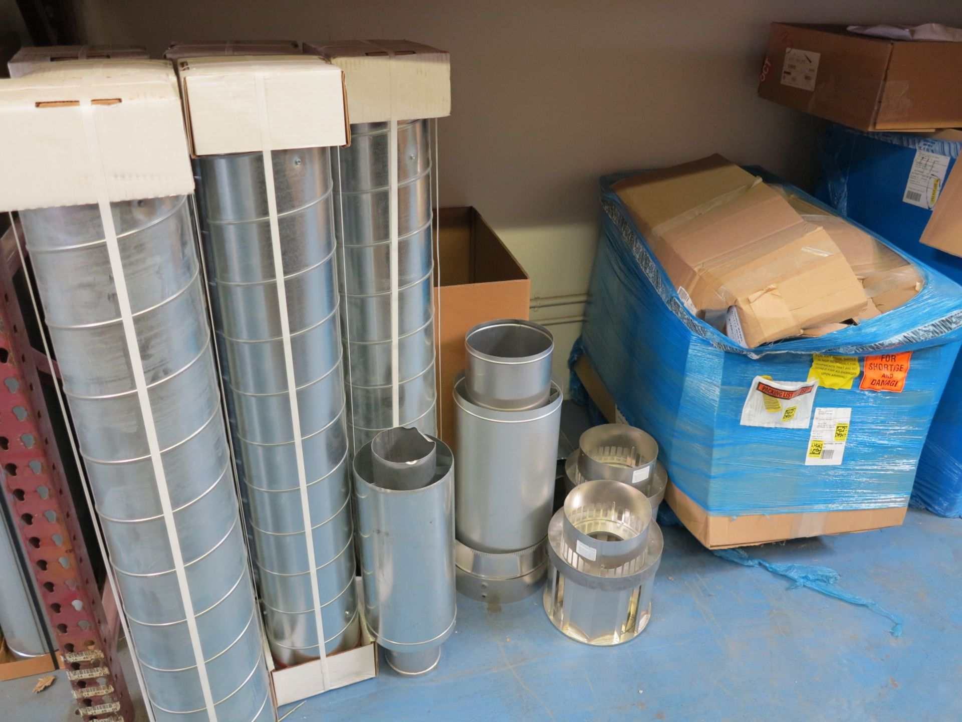 LOT - CONTENTS OF (3) SECTIONS OF PALLET RACKING, NOT INCLUDING TAGGED ITEMS - Image 5 of 9