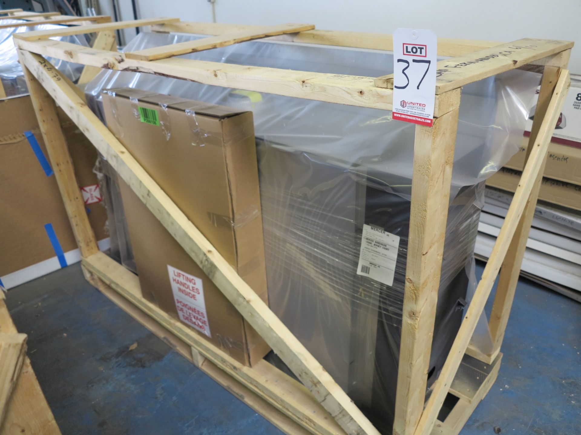 NAPOLEON GAS FIREPLACE, MODEL L50N, NEW IN CRATE