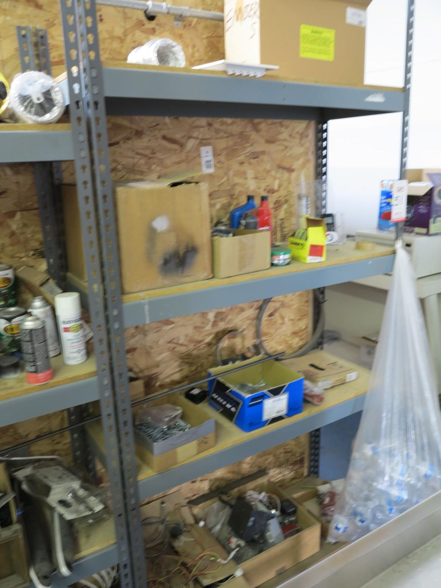 LOT - CONTENTS OF SHELVES - Image 2 of 2