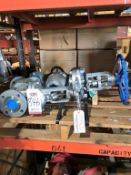 "LOT - (3) ASSORTED GATE VALVES: (1) 4"" AND (2) 2.5"""