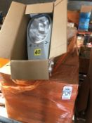 LOT - (10) GE 400 WATT STREET TYPE LIGHTS