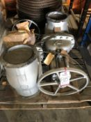 "LOT - (2) CRANE CO. 10"" GATE VALVES"