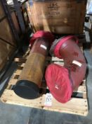 "LOT - 10"" BORE HEAVY DUTY AIR CYLINDER"