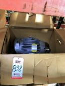 LOT - (2) BALDOR ELECTRIC MOTORS, 10 HP, 460 VOLT, 3-PHASE