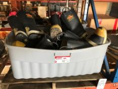 LOT - ASSORTED FIREMAN RUBBER BOOTS