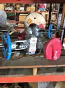 "LOT - (2) VELAN 4"" GATE VALVES"