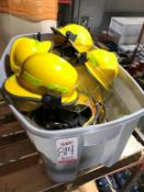 LOT - (12) CAIRNS HELMETS CERTIFIED FIREMAN HELMET