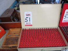 LOT - (2) VERMONT PIN GAUGE SETS: .011-.060 & .061-.250