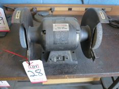 CENTRAL MACHINERY DOUBLE END BENCH GRINDER