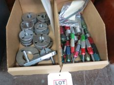 LOT - (2) BOXES OF THREAD AND RING GAUGES