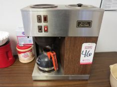 BUNN POUR-OMATIC COMMERCIAL COFFEE MAKER