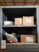 LOT - CONTENTS ONLY OF (10) VIDMAR CABINETS, CONSISTING OF ASSORTED HARDWARE, ELECTRICAL
