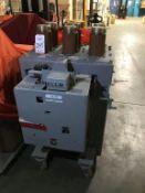 GENERAL ELECTRIC MANGE-BLAST CIRCUIT BREAKER, TYPE AM-4.16-350-1H, 4160 VOLT, 3000 AMP (LOCATION: