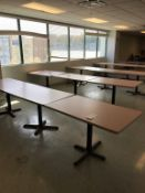 "LOT - (10) 48"" X 30"" TABLES"