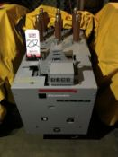 GENERAL ELECTRIC MANGE-BLAST CIRCUIT BREAKER, TYPE AM-4.16-250-8H, 4760 VOLT, 1200 AMP (LOCATION: