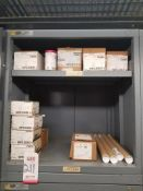 LOT - CONTENTS ONLY OF (14) VIDMAR CABINETS, CONSISTING OF ASSORTED HARDWARE, GASKETS, ELECTRICAL