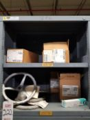 LOT - CONTENTS ONLY OF (13) VIDMAR CABINETS, CONSISTING OF ASSORTED HARDWARE, ELECTRICAL