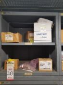 LOT - CONTENTS ONLY OF (16) VIDMAR CABINETS, CONSISTING OF ASSORTED HARDWARE, ELECTRICAL