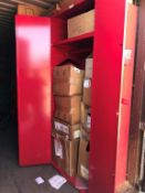 LOT - CONTENTS OF SEAVAN, CONSISTING OF ASSORTED ELECTRIC CABINETS, HEATERS, LIGHTING FIXTURES, (