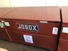 "JOBOX, MODEL 1-656990, 48"" X 30"" X 30"" DEEP (LOCATION: FLEX CONTAINER)"