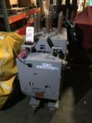 GENERAL ELECTRIC MANGE-BLAST CIRCUIT BREAKER, TYPE AM-4.16-350-2H, 4.76KV, 1200 AMP (LOCATION:
