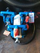 LOT - (3) SANDPIPER PNEUMATIC DIAPHRAGM PUMPS, PART # S1FB1ABWANS000 (LOCATION: FLEX CONTAINER)