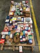 LOT - ASSORTED BEARINGS ON (2) PALLETS (LOCATION: WAREHOUSE)