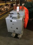 GENERAL ELECTRIC MANGE-BLAST CIRCUIT BREAKER, TYPE AM-4.16-350-1H, 4160 VOLT, 1200 AMP (LOCATION: