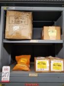 LOT - CONTENTS ONLY OF (23) VIDMAR CABINETS, CONSISTING OF ASSORTED HARDWARE, ELECTRICAL