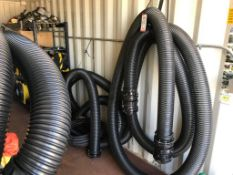 "5"" X 36' PVC SUCTION HOSE (LOCATION: FLEX CONTAINER)"