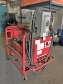 SIOUX MOBILE HEATED PRESSURE WASH SYSTEM, MODEL EN-40/140-H4-600, 460 VOLT, 3 PHASE, S/N 0106019 (