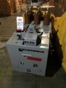 GENERAL ELECTRIC MANGE-BLAST CIRCUIT BREAKER, TYPE AM-4.16-250-8H, 4760 VOLT, 2000 AMP (LOCATION: