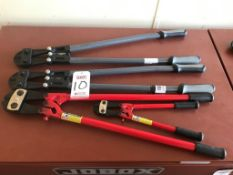 LOT - ASSORTED CABLE & BOLT CUTTING TOOLS (LOCATION: FLEX CONTAINER)