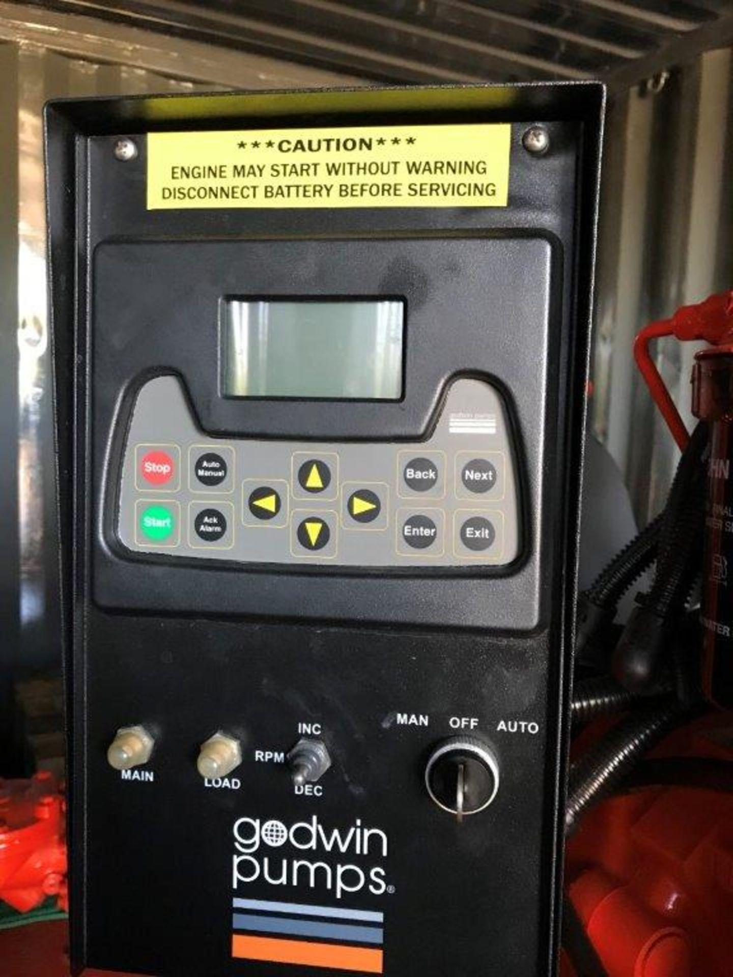 GODWIN DRI-PRIME INJECTION PUMP, MODEL HL110M, W/ JOHN DEERE 6.8 L DIESEL ENGINE, 156 HP, MODEL - Image 3 of 6