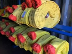 "LOT - (20) 5"" X 100' FIRE HOSES (LOCATION: FLEX CONTAINER)"