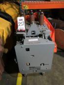 GENERAL ELECTRIC MANGE-BLAST CIRCUIT BREAKER, TYPE AM-4.16-250-9H, 4760 VOLT, 2000 AMP (LOCATION: