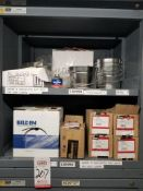 LOT - CONTENTS ONLY OF (6) VIDMAR CABINETS, CONSISTING OF ASSORTED TWIST CONNECT AIR FITTINGS,