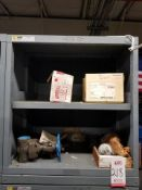 LOT - CONTENTS ONLY OF (14) VIDMAR CABINETS, CONSISTING OF ASSORTED HARDWARE, ELECTRICAL