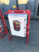 POWER TEMP SYSTEMS INC. PORTABLE DISTRIBUTION PANEL, MODEL P3004803PHN3SO, 300 AMPS, 480 VOLTS, 3