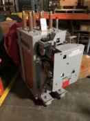 GENERAL ELECTRIC MANGE-BLAST CIRCUIT BREAKER, TYPE AM-4.16-350-2H, 4.76 KV, 1200 AMP (LOCATION: