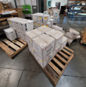 LOT - APPROX. (7) PALLETS OF POWDER COAT IN MISC COLORS